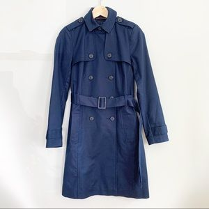 Tommy Hilfiger Double Breasted Trench Coat w/ Belt